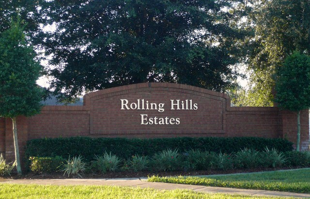 Rolling Hills at Formosa Gardens Development Entrance